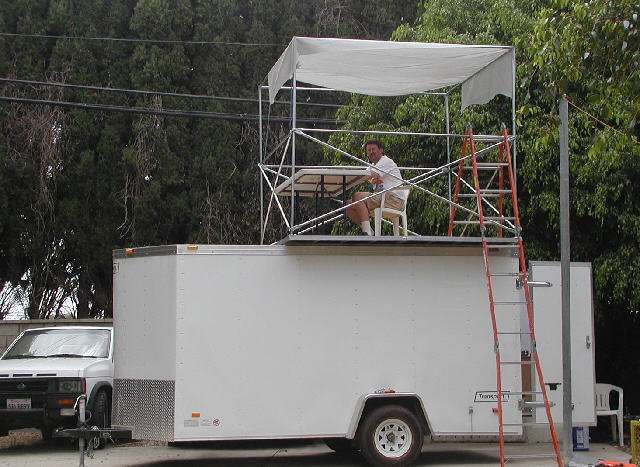 New ChronoLogic timing trailer with upper deck.